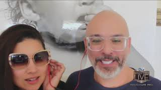 Jo Koy pulls ex-wife Angie King onto live TV to discuss being friendly exes, co-parenting their son