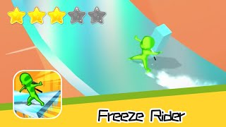 Freeze Rider Walkthrough Freeze your way to the top! Recommend index three stars