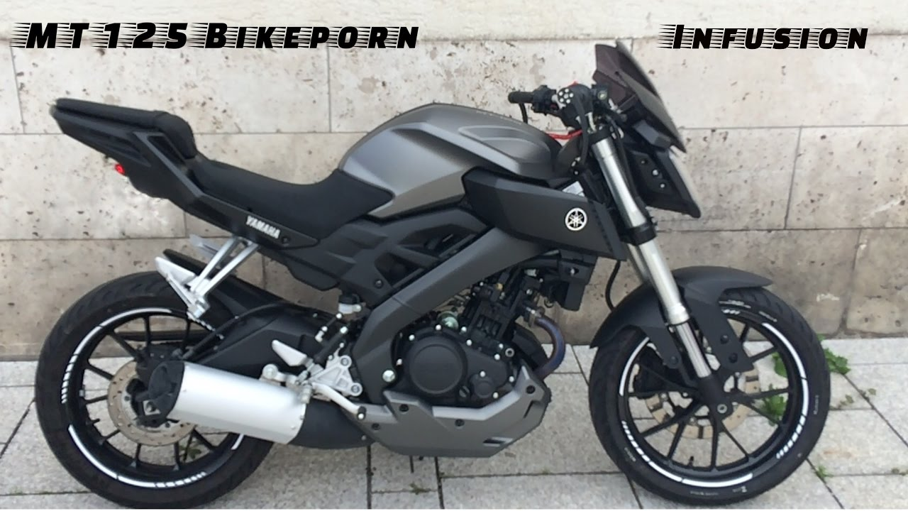 bikeporn mt 125 yamaha infusion36 youtube. Black Bedroom Furniture Sets. Home Design Ideas