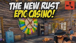 WINNING BIG at the NEW RUST CASINO! - Rust Solo Survival Gameplay