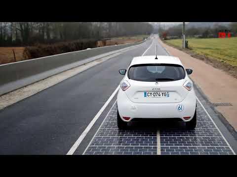 China's solar expressway meets light of day #Solar Road