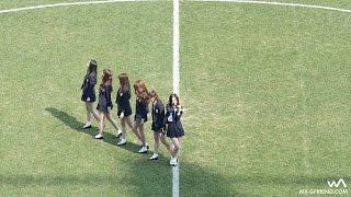 Gambar cover 160326 여자친구(GFRIEND) - 시간을 달려서 (Rough) @대전시티즌 개막전 안무 직캠/Fancam by -wA-
