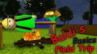 Monster School : BALDI'S BASICS FIELD TRIP CHALLENGE - Minecraft Animation