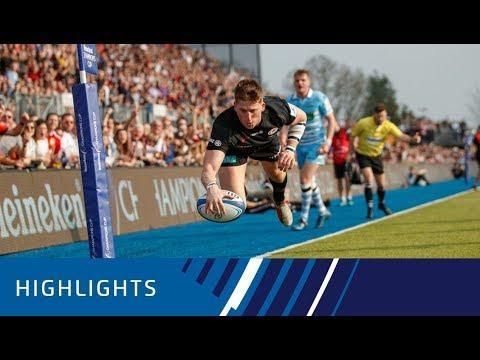 Saracens v Glasgow Warriors Quarter-final Highlights 30.03.19