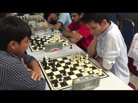 DPULZE INTERNATIONAL BLITZ CHESS CHAMPIONSHIP 2015 - Round 3 Board 1