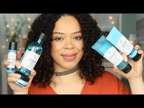 The Body Shop Seaweed Line | review | Oily Skins