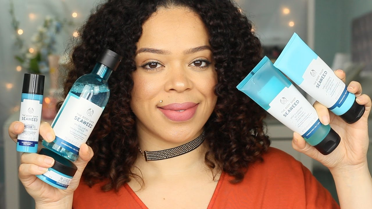 The Body Shop Seaweed Line Review Oily Skins Youtube