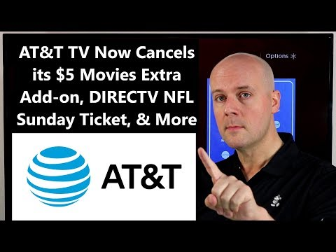 CCT #155 – AT&T TV Now Cancels its $5 Movies Extra Add-on, DIRECTV NFL Sunday Ticket, & More