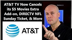 CCT #155 - AT&T TV Now Cancels its $5 Movies Extra Add-on, DIRECTV NFL Sunday Ticket, & More