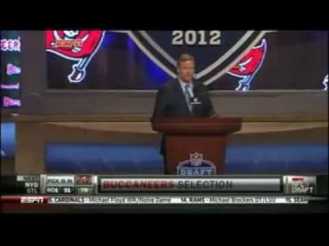 2012 NFL Draft - Pick 31 Bucs - D Martin.mp4