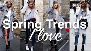 Spring Trend Roundup | My Top 5 | Sinead Crowe