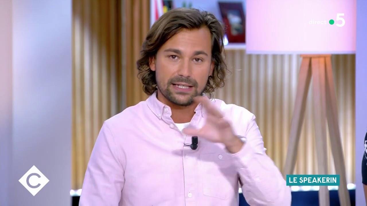 Bertrand Chameroy, Le Speakerin #2 - C à Vous - 18/09/2020