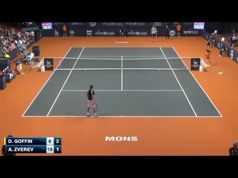 Alexander Zverev (GER) V David Goffin (BEL) - Mons Challenger 2014 cut