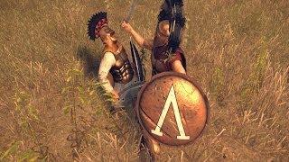 Спартанец VS Афинянин (Rome 2: Total War)