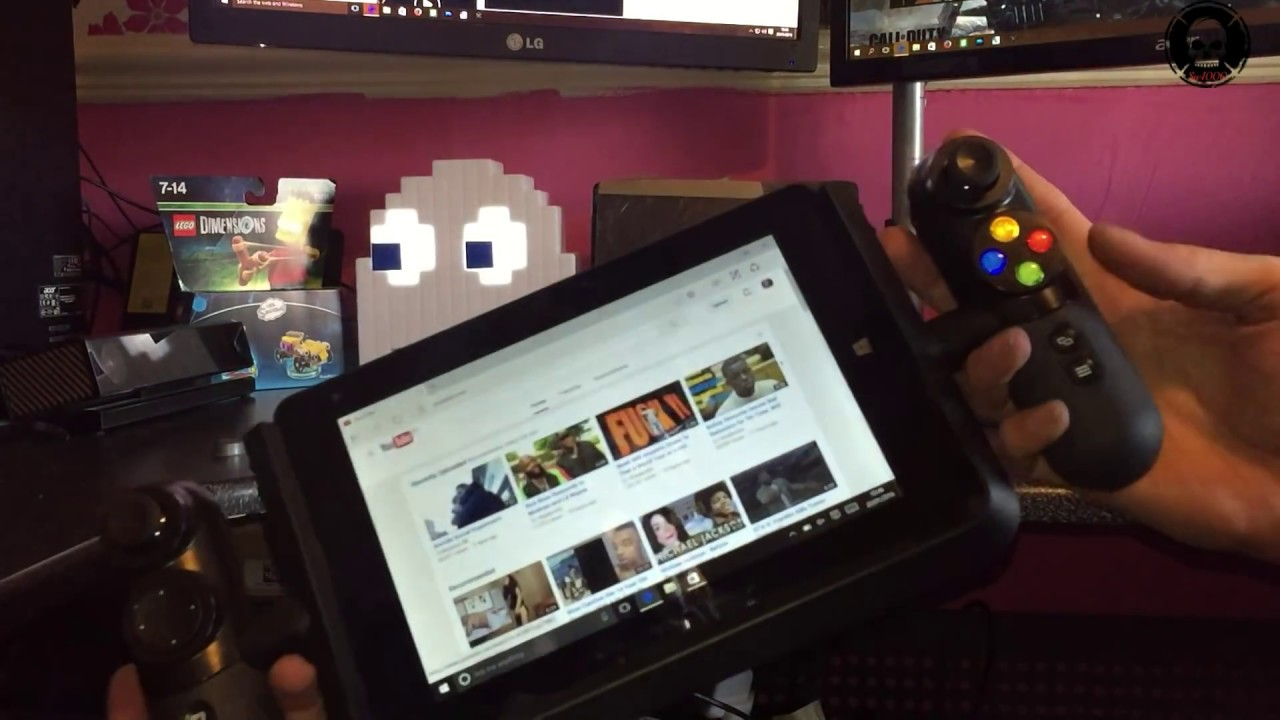 review Linx Vision 8-Inch Tablet with Xbox Controller