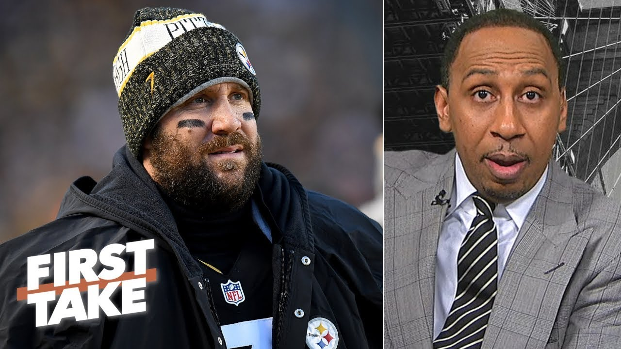 Ben Roethlisberger 'is a problem' in the Steelers locker room - Stephen A.   First Take