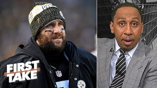 Ben Roethlisberger 'is a problem' in the Steelers locker room - Stephen A. | First Take