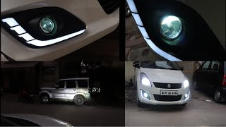 Installed Projector Fog Lamps On My Car | Hid For Fog Lamps | Best Hid For Your Car | Hid Kit