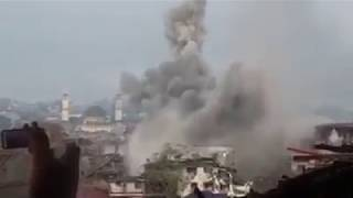Philippine Air Force FA-50 Fighter Jet Continues to Pound Terrorist Positions in Marawi City