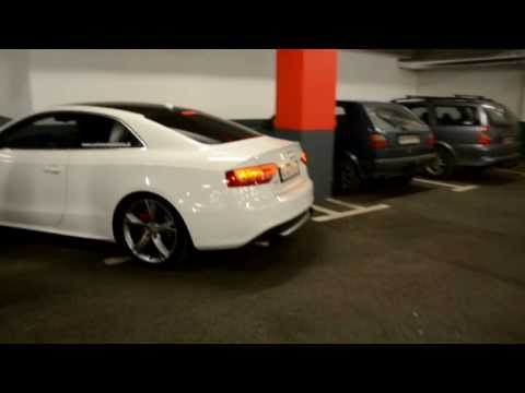 Be3 Audi S5 Supercharged awesome HMS exhaust