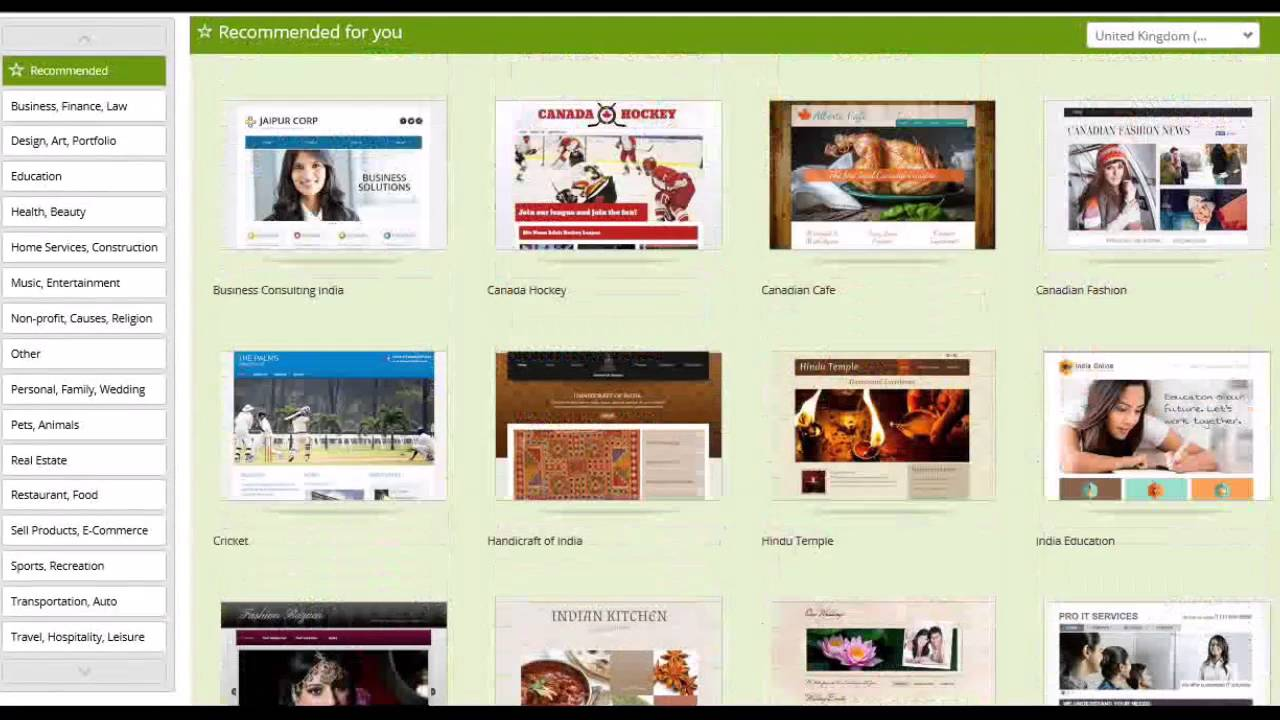 godaddy website builder review tutorial youtube