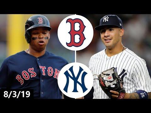 Boston Red Sox vs New York Yankees Highlights (Game 1) | August 3, 2019 (2019 MLB Season)