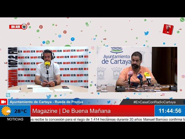 Radio Cartaya | Presentación de la Programación Cultural para el verano 2020