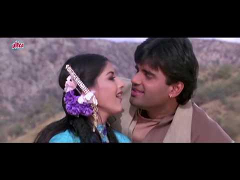 Kajal Kajal Teri Aankhon Ka - Sonali Bendre, Sunil Shetty, Sapoot, Romantic Song