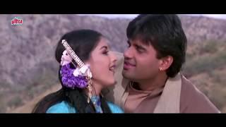 Kajal Kajal Teri Aankhon Ka Sonali Bendre, Sunil Shetty, Sapoot, Romantic Song