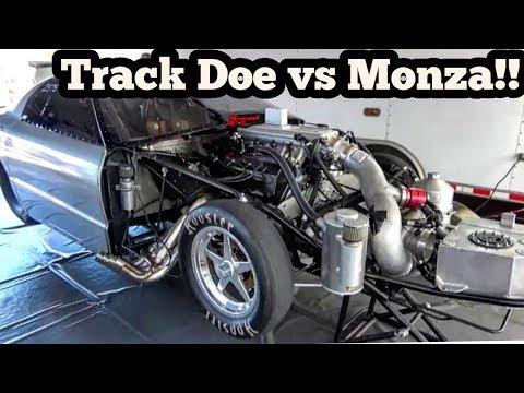 Street Outlaws Monza vs Track Doe at Florida No Prep Kings