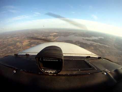 FLYING OVER ARCADIA LAKE EDMOND, OKLAHOMA