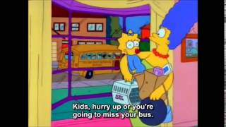 The Simpsons: Marge Gets Stressed Out thumbnail