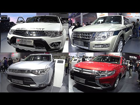 2016, 2017 Mitsubishi Pajero VS Pajero Sport VS Pajero Ultimate