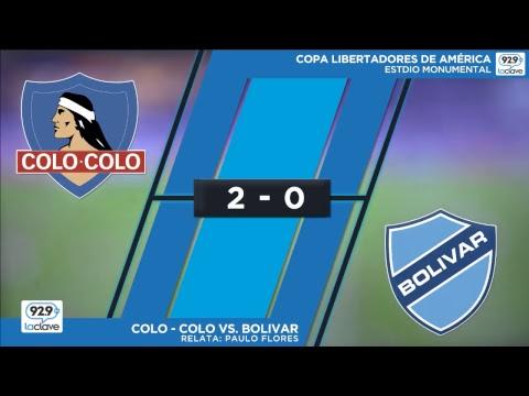 #Conclaveenlacancha   Copa Libertadores - Colo-Colo vs Bolívar   Martes 15 de mayo