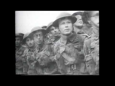 'Officers and Men': Rare WW2 Training Film