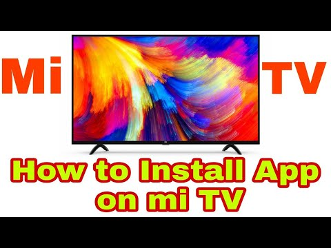 How to install apps on MI TV 4A   How to install apps on mi