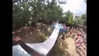 Suicide Slip and Slide!!!