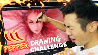 HOT PEPPER DRAWING CHALLENGE!