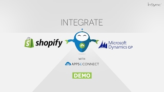 Microsoft Dynamics GP and Shopify eCommerce Integration by APPSeCONNECT