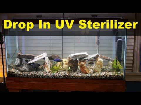 Drop in UV Sterilizer for Fish Tank