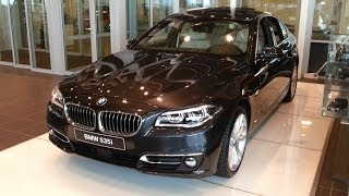 BMW 5 Series 2016 In Depth Review Interior Exterior