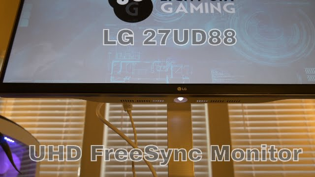 A Newb Review Of Lg 27ud88 W 27 4k Uhd Ips Freesync Monitor 3840 X