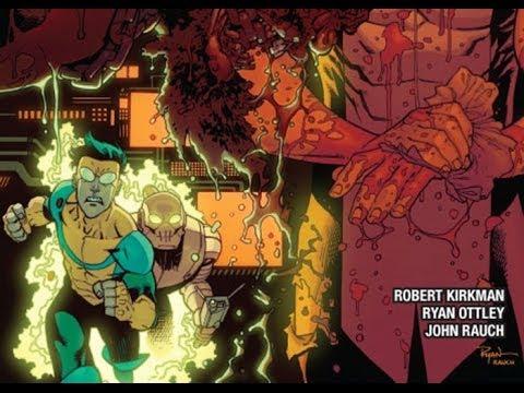 Nerdlocker Comic Book Review - Invincible #108
