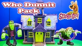 SCOOBY DOO Cartoon Network Scooby Doo Who Dunnit Pack a Scooby Doo Video Toy Review