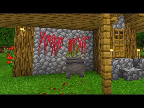 Found strange message in Minecraft village.. (Scary Minecraft Video)