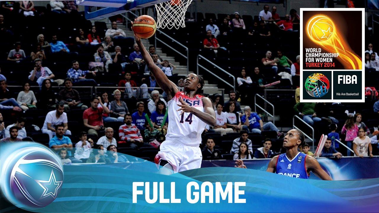 USA v France - Full Game - Quarter Final