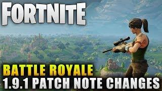 "Fortnite Battle Royale Update ""Fortnite Battle Royale Smoke Grenade Update"" Fortnite BR Patch Notes"