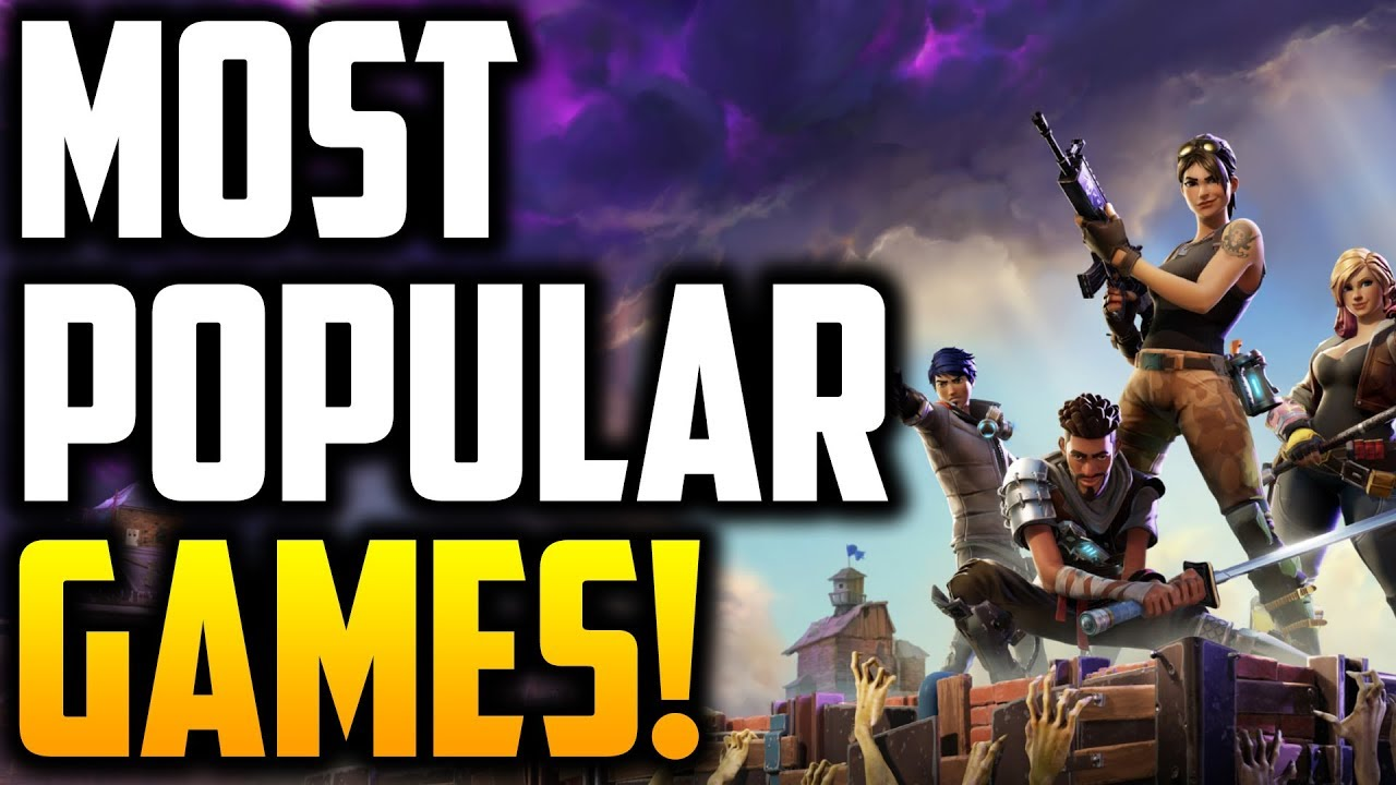 Top 5 Most Popular Games In The World Most Popular Games