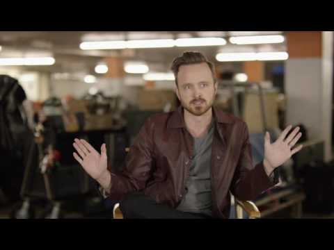 "Central Intelligence: Aaron Paul ""Phil"" Behind the Scenes Movie Interview"