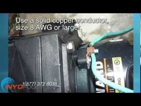 Jacuzzi Pump Motors Wiring Diagrams How To Wire A Pool Pump Youtube